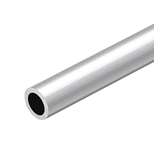 Tubo redondo de aluminio 6063 de Sourcing, 300 mm de longitud, 20...