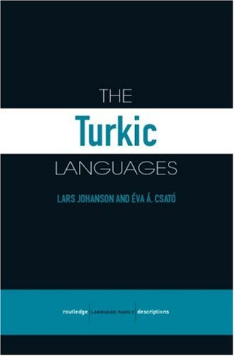Compare Textbook Prices for The Turkic Languages Routledge Language Family Series 1 Edition ISBN 9780415412612 by Lars Johanson,Éva Á. Csató