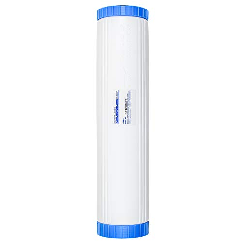 Water Softening Filter Cartridge | 20' Big Blue Universal Size | Ion Exchange Filter Softens Water | Great for Washing Machines and Appliances (20' Big Blue | 1 Pack)