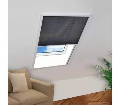 GOTOTOP - Mosquitera para ventanas de aluminio, 60 x 80 cm,