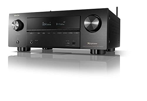 Denon AVR-X3600H 9.2 Channel 4K Ultra HD AV Receiver with Heos (Renewed)