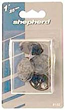 Shepherd 9103 4 Count 1 in Carpet Base Nail On Glides by Shepherd