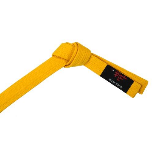 DEPICE Budogürtel gelb 280 cm/Kampfsportgürtel Karategürtel Judogürtel
