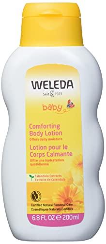 Weleda - Leche corporal de caléndula para bebé, 200 ml