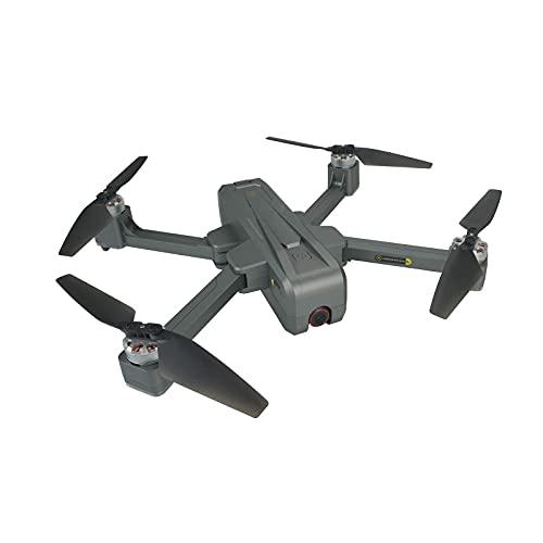 SuRose Drone, Drone aéreo 4k Plegable de Cuatro Ejes, cámara WiFi 5g, cámara aérea sin escobillas de Flujo óptico GPS, batería única