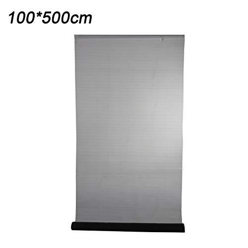 KingSaid 100x500 cm Fliegengitter Fliegennetz Meterware Insektenschutz für Fenster Tür