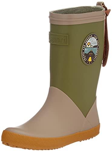 Bisgaard Fashion II Rain Boot, Green, 28 EU