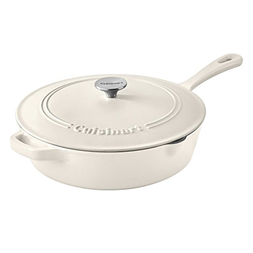 Cuisinart Chicken Fryer, Matte Snow White, 12""