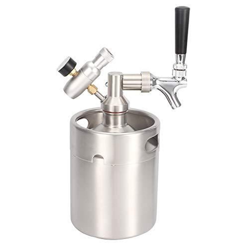Zwindy Homebrew Keg System Kits, equipo de barril de cerveza portátil, resistente y duradero para el hogar