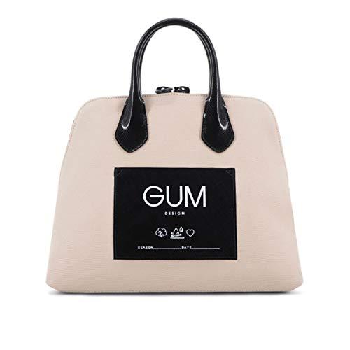 GUM Gianni Chiarini Design, Borsa a Mano CNV-LUX Media Beige, GUM_BS1980/19AI_9426