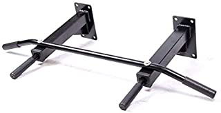 IBS Wall Mounted Pull up/Chin up Bar (Black)
