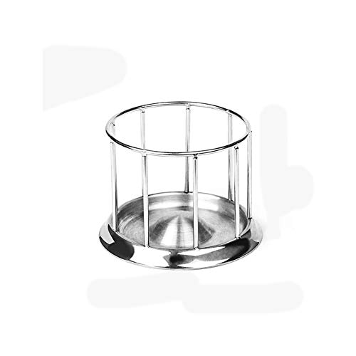CenYC Stainless Steel Tortoise Feeder Turtle Food Dish Basin Aquarium Turtles Food Tray Dispenser Feeding Tool