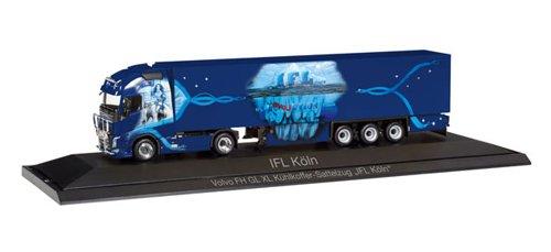 herpa 121798 Fahrzeug Volvo FH Gl. XL Kühlkoffer-Sattelzug IFL Köln