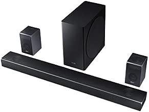 Samsung Harman Kardon 7.1.4 Dolby Atmos Soundbar HW-Q90R with Wireless Subwoofer and Rear Speaker Kit, Adaptive Sound, Game Mode, 4K Pass-Through with HDR, Bluetooth & Alexa Compatible (HW-Q90R/ZA)