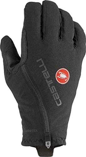 castelli Espresso GT Glove - Guantes de fútbol Unisex para Adulto, Unisex Adulto, 4520532, Negro, L