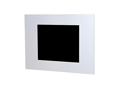 TabLines TWE050QS beschermhoes voor Apple iPad 2/3/4 HB in liggend formaat zonder homebutton zilver