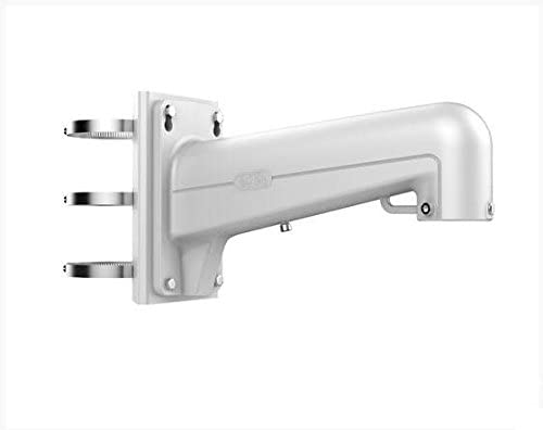 DS-1602ZJ-pole Wall Mounting Bracket Security Camera Mounts for CCTV Surveillance System White
