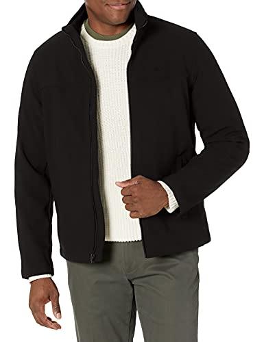 Dockers Men's The 360 Series Performance Soft Shell Jacket, Black, XX-Large