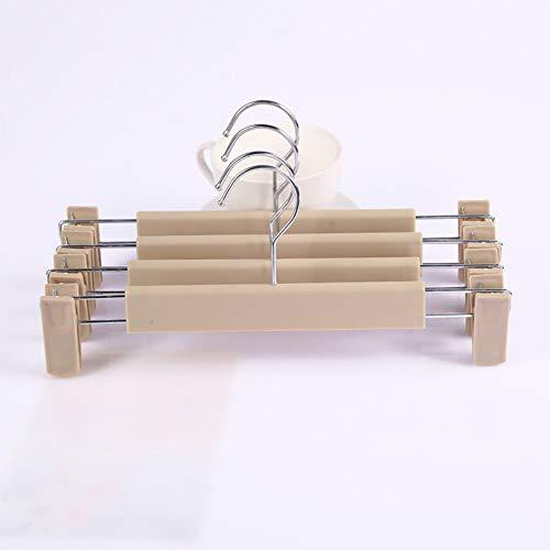 CHUITF Multicolor multifunctionele opslag dikke kunststof broek clips antislip broek broek broek hangen broek kleerhanger clip