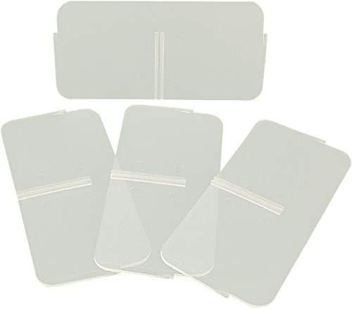 Buchsteiner Ersatz-Trennstege zu Klickbox Vario-hoch (4 Stück)