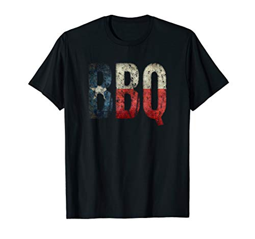 BBQ Texas State Flag Barbecue T-Shirt