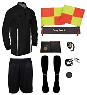 New! Pro Soccer Referee Package Full Sleeve (11 Piece)