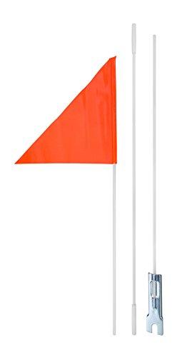 Diamondback Safety Flag, 6-Feet, Orange
