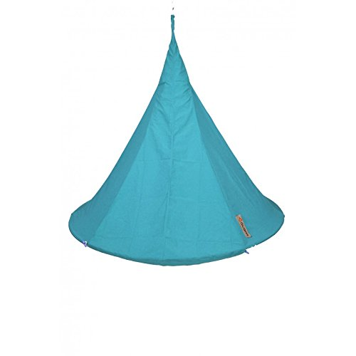 Hang-In-Out - Cacoon Porte Duo Bleu Turquoise 1.8m