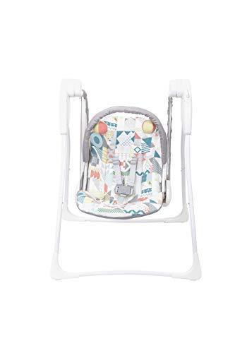 Columpio para bebé Baby Delight, de Graco. Blanco/Gris