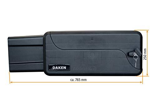 Deichselbox mit Schloss, Werkzeugkasten für Anhänger Staukiste 23 ltr Anhängerbox, Daken B23-1 - 4