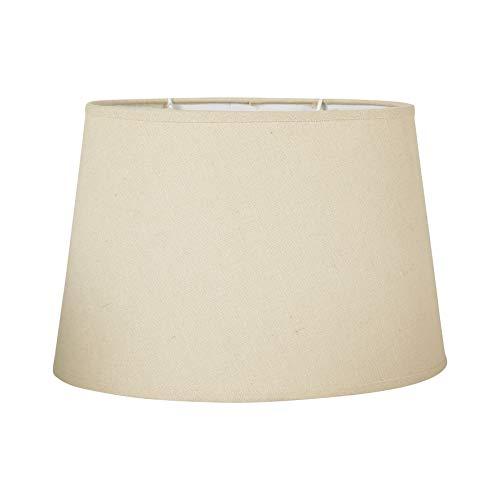 Ostaria Pantalla lámpara oval, Color Crudo