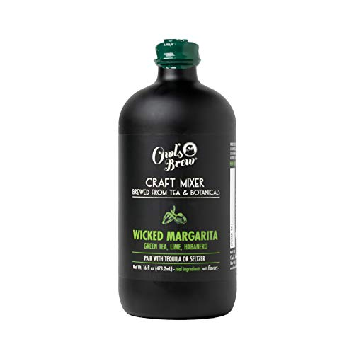 Wicked Margarita Owl's Brew Cocktail Mixer, 16 Ounce Bottle (Pack of 6)