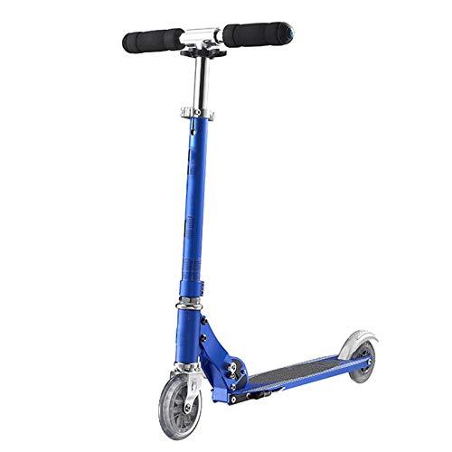 HYE-SPORT Scooters para Adolescentes Tricks, Scooters para Principiantes con Mecanismo de Giro 360 Grados y pestillo Plegable, conmutación y Viajes, Azul