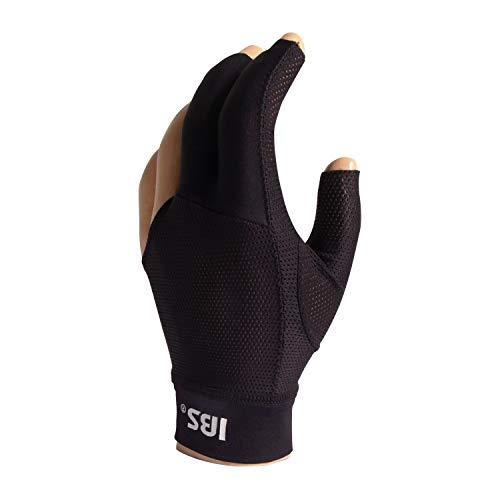 Manuel Gil Handschuh Billard IBS Glove Gold Mesh Black