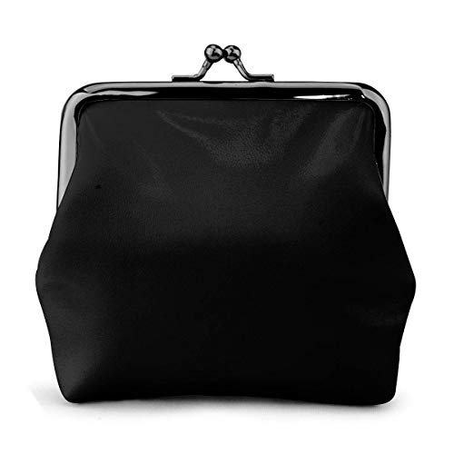 Post Eclipse Womens Leather Exquisite Coin Purse Kiss Lock Mini
