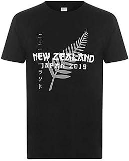 RWC2019ラグビーワールドカップ2019日本大会記念 ニュージーランド オールブラックス Tシャツ Mサイズ 英国直輸入 QC291