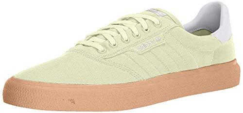 adidas 3MC Skateschuh, weiß, gold, 7,5M US, Gelb (Halo / Cloud White / Gum), 40 EU