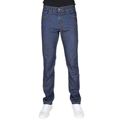 Jeans Uomo CARRERA Elasticizzato 5 Tasche Taglie 46 - 62 Art.700 / 921A ( Blu Scuro - 58)