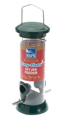 RSPB 9-inch Premium Easy Clean Nyjer Seed Feeder by RSPB Sales Ltd
