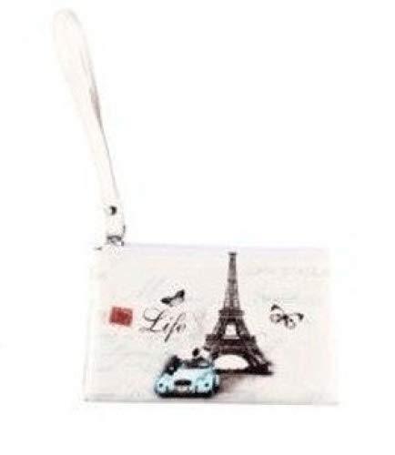 """Lote de 24 Portatodo Retro""""Paris"""" - Detalles Originales Baratos Bodas - Porta todo, carteras, monederos para Detalles, Regalos y Recuerdos de Bodas, Bautizos, Comuniones, 1ª Comunión"""