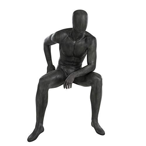 Hans Boodt Schaufensterpuppe Esprit, Mann sitzend