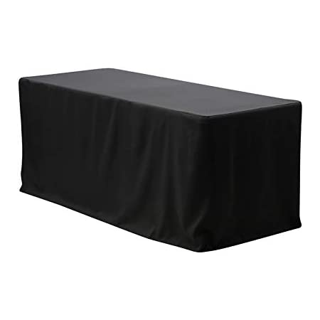 Tablecloths Wedding 4ft Fitted Table Cloths Event Black Trestle Cover Event