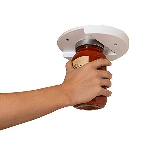 Lihuzmd Glasöffner,Einfacher tragbarer Dosenöffner Flaschenöffner Flaschenöffner Perfekt für Arthritis, schwache Hände und Senioren