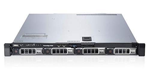 Dell PowerEdge R420 Server | 2X E5-2450 2.1GHz = 16 Cores | 64GB RAM | H310 | 4X 3TB SAS (Renewed)