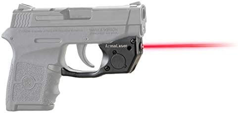 ArmaLaser TR24 Designed to fit S W Bodyguard 380 Red Laser Sight Grip Activation product image