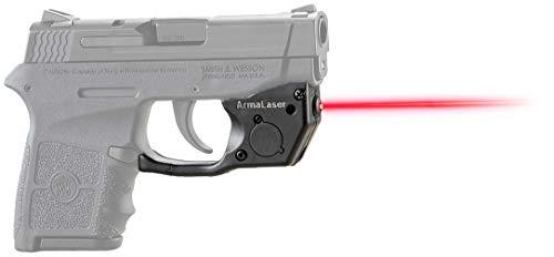 ArmaLaser TR24 Designed to fit S&W Bodyguard 380 Red Laser Sight Grip Activation