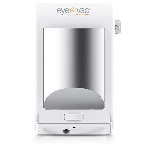 EyeVac Professional Elektrischer Mülleimer Abfalleimer mit Sensor Automatischer Staubsauger 1400 Watt 6,2L (Weiss)
