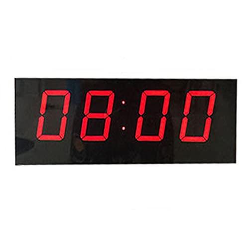 Goodvk Tabellone Segnapunti Pallacanestro Game Scoreboard LED LED Supporto del tabellone segnapunti del Tasto segnapunti Timer Timer Badminton Balldi Facile da Usare (Colore : Black, Size : 20x10cm)