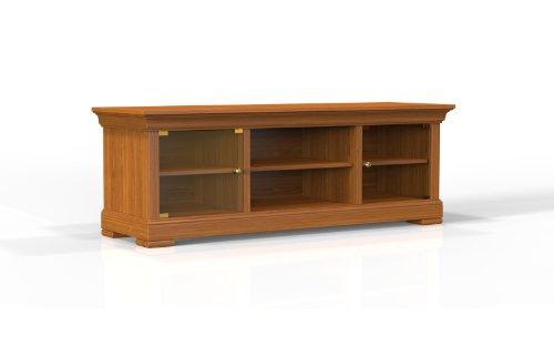 Selva SPA Epoca Mirabeau 8029853000823–Mueble de TV clásico y Elegante con Acabado en Cerezo, 158x 50/55cm, Color marrón