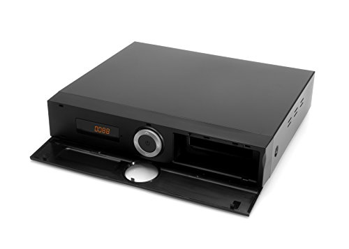 Xoro HRK 7672 HDD 0TB DVB-C HD Kabelreceiver (HDTV TWIN Tuner, HDMI, USB PVR Ready, S/PDIF opt., MiniSCART, ohne SATA Festplatte im FP-Schacht, 12V) schwarz